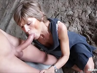 Grandmams desolate fancy young cock compilation