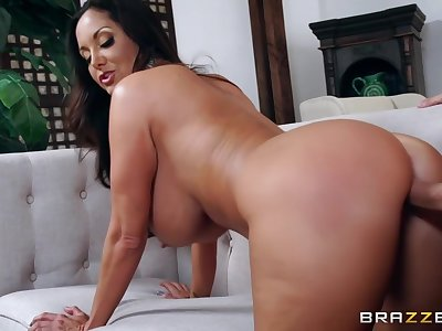 Big Arse Busty Milf Rammed From Behind By Helter-skelter Ava Addams And Keiran Lee