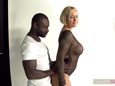 Black Monster Dick vs Blond Monster MILF
