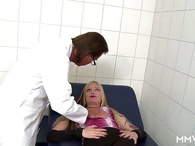 German Anal examination