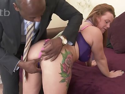 Mature Yon On Some BIG BLACK PENIS - chunky rear end