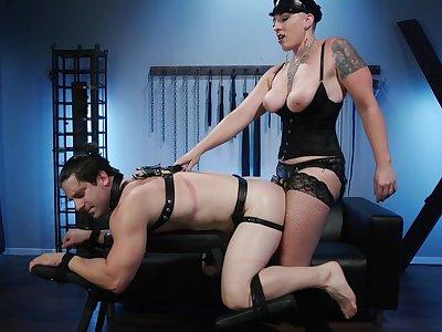 Female domination XXX with mature Mistress Kara