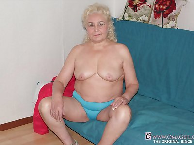 Old big granny knockers and big fat grannies take video and sheet compilation