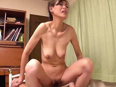 japanese milf of age cowgirl compilation
