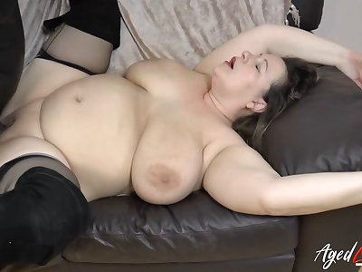AgedLovE Busty Full-grown Interracial Hardcore