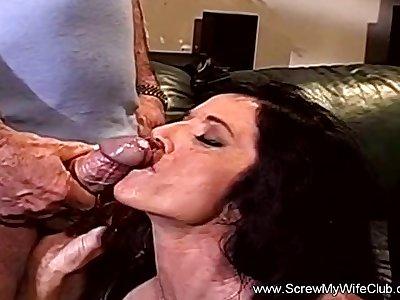Nasty Swinging With Big Time Floozy MILF With Sexy Body