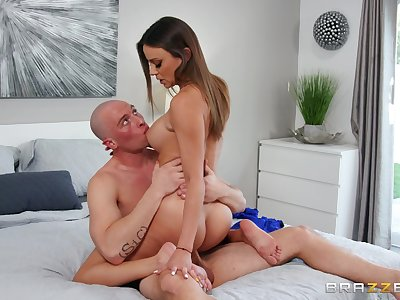 Exceptional hard sex moments with burnish apply big ass spliced