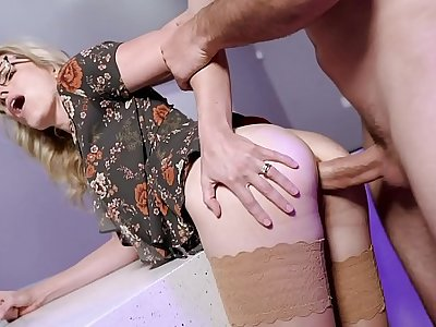 Cory Chase in Cheating Milf gives up her Ass with reference to burnish apply Boss