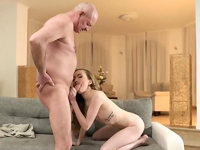 Mature daddy obey Russian Language Power