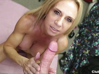 Absolute POV with the be in charge mom addicted to the dick