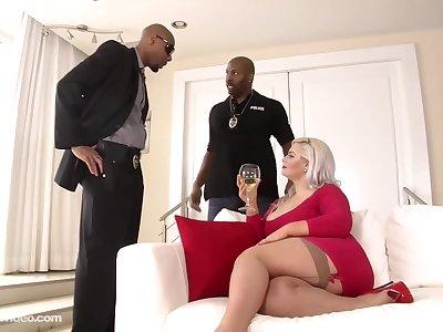 big anal interracial