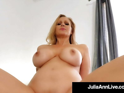 Step Sex With Mommy Julia Ann Riding Her Step Go forth Hard Cock