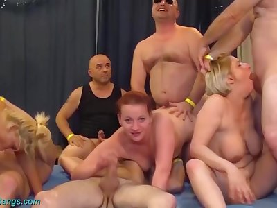 Extreme german fisting swinger club party orgy