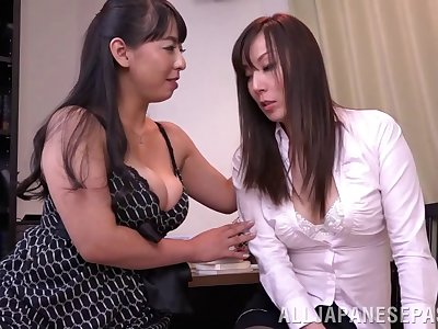Japanese lesbian dealings the last straw Ryouko Murakami and say no to lover