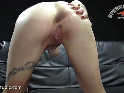Cum Orgy for Milf Slut Klara - Sperma-Studio