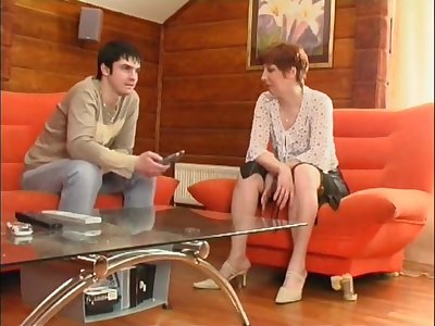 Horny Russian Milf Porn Asks About Young Guy