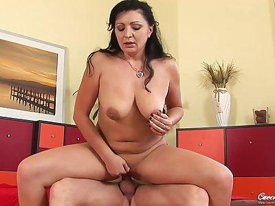 Grace  Czech Milf - Hard Fuck mommy