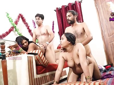 INDIAN FRIEND Wed SWAPPING - 2 Dicks Near One Doll