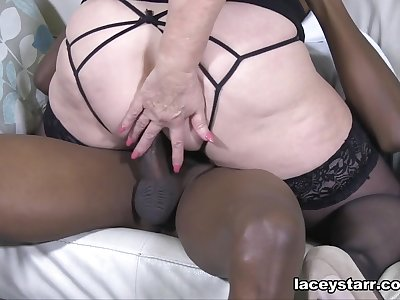 Analysed hard by Big Black Cock - LaceyStarr