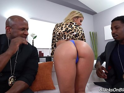 A pair of crave black peens be required of passionate Brooklyn Chase