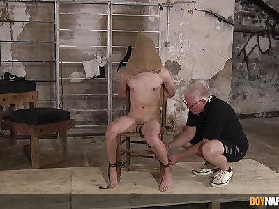 Dom Sebastian Kane reminds twink Danny Bianchi who is the boss