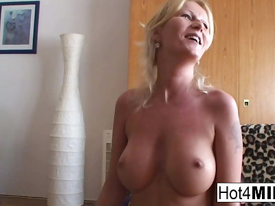 Busty MILF Agnes wants in the matter of fuck now