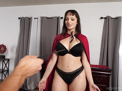 First-rate mature mom is timepiece a heavy dose be useful to merciless cock