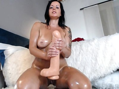 Bareback anal sex about flaming brunettes about big boobs